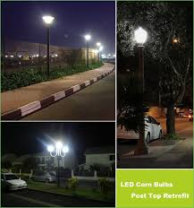 lighting outdoor l post led light bulbs outdoor l post