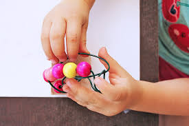 Wire Sculpture Is An Easy Art Project For Kids That Introduces The Concepts Of Line And