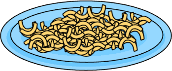 Pasta clipart macaroni and cheese 1