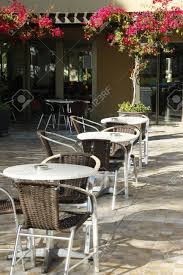 Outdoor Open Air Cafe Chairs With Tables In Hotel Of Turkey Stock ... Vintage Old Fashioned Cafe Chairs With Table In Cophagen Denmark Green Bistro Plastic Restaurant Chair Fniture For Restaurants Cafes Hotels Go In Shop And Table Isometric Design Cafe Vector Image Retro View Of Pastel Chairstables And Wild 36 Round Extension Ding 2 3 Piece Set Western Fast Food Chairs Negoating Tables Balcony Outdoor Italian Seating With Round Wooden Wicker Coffee Stacking Simply Tables Lancaster Seating Mahogany Finish Wooden Ladder Back