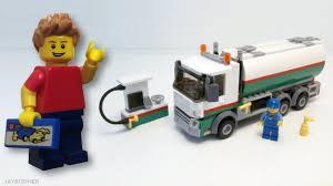 100 Lego Tanker Truck LEGO City 60016 Exploration YouTube