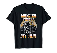 100 Monster Truck T Shirts Amazoncom Funny Shirt Birthday Party