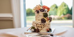 Birch Rustic Wedding Cake