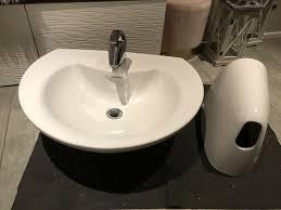 keramag waschbecken waschtisch becken hansa armatur badezimmer