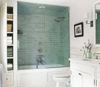 fiberglass showers that look like tile budget bathroom remodel