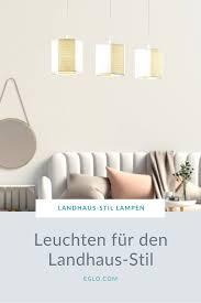 leuchten im landhaus stil wohnzimmer leuchte len
