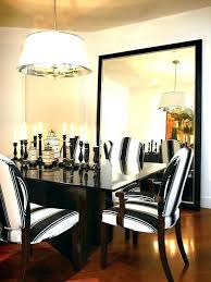 Wall Of Mirrors Ideas Lovely Dining Room Decor With Mirror Large For Living