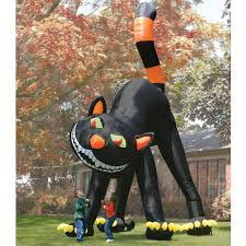 Halloween Blow Up Decorations by Halloween Inflatables Archives Hammacher Schlemmer Blog