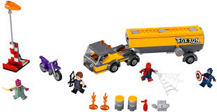Tagged 'Articulated Lorry' | Marvel Super Heroes | Brickset: LEGO ...