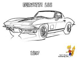 You Can Print Out This Muscle Car Coloring Page Now Yescoloring Images 01 Corvette L8