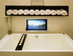 wireless waterproof tv from luxurite a mirror tv as well