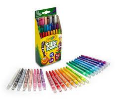 Crayola Bathtub Crayons 18 Vibrant Colors by Crayola Silly Scents Twistables Mini Crayons Walmart Com