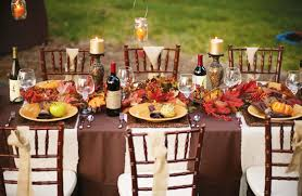 Tabletop Tuesday Outdoor Thanksgiving Table Ideas