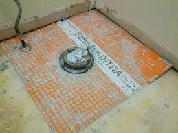 Ditra Xl Schluter Tile Underlayment by Bathroom Floor Tile Underlay Thedancingparent Com