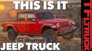 Breaking News: 2020 Jeep Gladiator Images & Specs Leaked! - YouTube