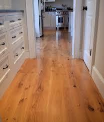 Hardwood Oak Floor White Treads Rustiv Plank
