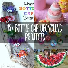 Save Your Plastic Bottle Caps Here Are Some Creative Diy Projects That Use Them Up With Crafts Using Bottles