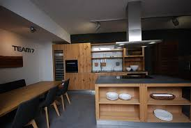 loft eiche vollholz küche loft eiche