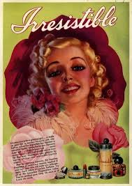 1930s Ad Campaign For Irresistible Perfume