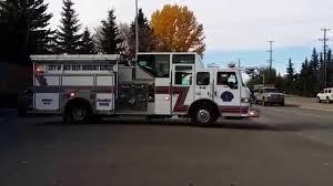 100 Fire Trucks On Youtube Red Deer Engine 2 Responding On Run YouTube