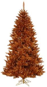 Copper Artificial Christmas Trees