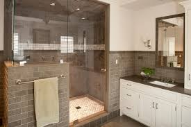 grey subway tile contemporary bathroom shelter interiors llc
