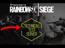 siege test technical test server tom clancy s rainbow six siege