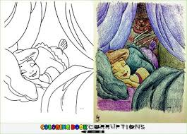 7 Best Corrupt Coloring Book Images On Pinterest