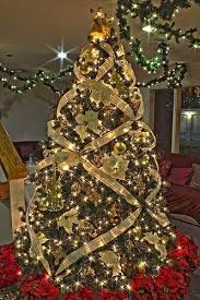 Gold Music Themed Christmas Tree By Mastery Of Maps