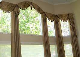 Kitchen Curtain Ideas With Blinds by Decor Window Drapes Drapes And Valances Window Treatments