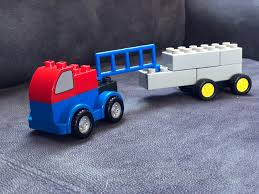 Truck Version Of Optimus Prime Made From DUPLO : Lego