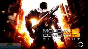 modern combat free combat 5 blackout apk free
