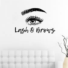 100 Sexy Living Rooms Girl Eyelashes Room Background Wall Decoration Sticker