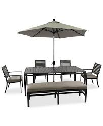 High Top Patio Furniture Sets by Patio Patio Dining Set With Bench Outdoor Dining Sets For 8