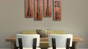Wooden Fork And Spoon Wall Hanging by Likeable Kitchen Wall Art Ideas Kitchen The Gather House Diy