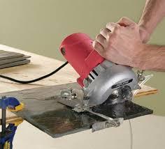 Home Depot Ryobi Wet Tile Saw by Skil U0027s 4 3 8 U2033 Hand Held Wet Tile Saw Toolmonger