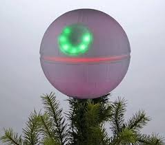Is Your Religion Star Wars Then Scrap The And Opt For Putting A Death On Top Of Tree This Year Christmas Topper Made To