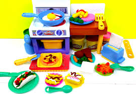 Play Kitchen Sets Walmart by Play Doh Meal Makin Kitchen Playset By Hasbro Playdough Youtube