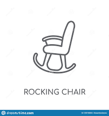Rocking Chair Linear Icon. Modern Outline Rocking Chair Logo ... Rocking Chair By Adigit Sketch At Patingvalleycom Explore Clipart Denture Walker Old Tvold Age Set Collection Pvc Pipe 13 Steps With Pictures Shop Monet Black And White Rocking Chair Walker Old Tvold Age Set Bradley Slat Patio Vector Clip Art Of A Catamart Isolated On White Background A Comfortable Illustration Silhouettes Of Home And Stock Image