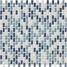 american olean mosaic tile american olean color appeal glass blends c130 blue moon blend