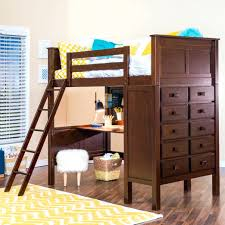 Low Loft Bed With Desk Underneath by Dressers Bunk Bed With Desk And Dresser Bunk Bed With Desk