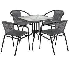 28'' Square Glass Metal Table With Gray Rattan Edging And 4 Gray Rattan  Stack Chairs Maze Rattan Kingston Corner Sofa Ding Set With Rising Table 2 Seater Egg Chair Bistro In Brown Garden Fniture Outdoor Rattan Wicker Conservatory Outdoor Garden Fniture Patio Cube Table Chair Set 468 Seater Yakoe 8 Chairs With Rain Cover Black Round Chester Hammock 5 Pcs Cushioned Wicker Patio Lawn Cversation 10 Seat Cube Ding Set Modern Coffee And Tea Table Chairs Flower Rattan 6 Seat La Grey Ice Bucket Ratan 36 Jolly Plastic Philippines Small 4 Chocolate Cream Ideal