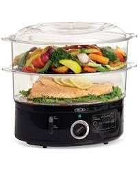 steamer cuisine 13872 2 tier food steamer electrics kitchen macy s