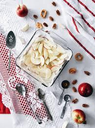 dessert aux pommes sans cuisson dessert étagé sans cuisson au fromage pommes et épices chaï en