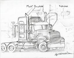 100 Truck Drawing 10 Log Drawing Logging Truck For Free Download On Ayoqqorg