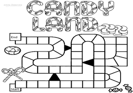 Candyland Characters Pictures And Names Board Game Coloring Pages