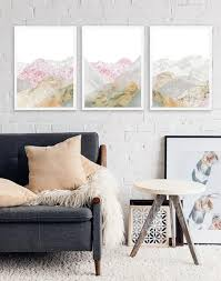 sparen sie 10 gerahmte bild wand kunst set für wohnzimmer rosa berg drucke 3 stück wandkunst große gerahmt eiskunst natur druck marmor kunst