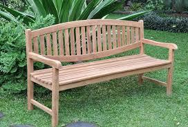 wooden garden bench outdoorlivingdecor