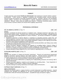 Hospital Administration Sample Resume Gallery Of Examples Generous Healthcare