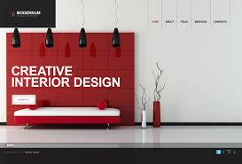 100 Cool Interior Design Websites Moto CMS HTML Template